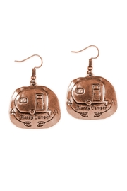 Riah Fashion Boho Engraved Earrings - Product Mini Image