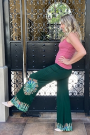 I Boutique  Boho Fit and Flair Pant - Front cropped