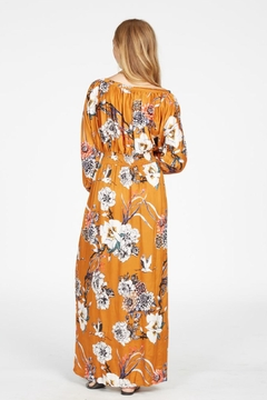 Knot Sisters Boho Floral Dress - Alternate List Image