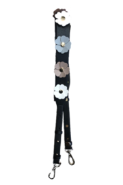 be clear handbags Boho Flower Strap - Front cropped