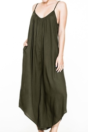 En Creme Boho Jumpsuit - Product Mini Image