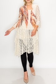 Origami Boho Lace Duster - Product Mini Image