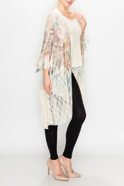 Origami Boho Lace Duster - Front full body