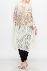 Origami Boho Lace Duster - Side cropped