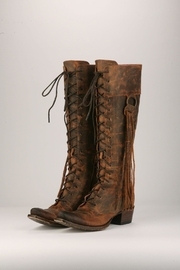 Lane Boots Boho Lace-Up Boots - Product Mini Image