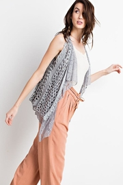 easel Boho Layered Vest - Other