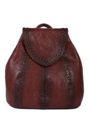 Scully  Boho Leather Backpack - Product Mini Image