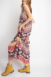 easel Boho Maxi Dress - Front cropped