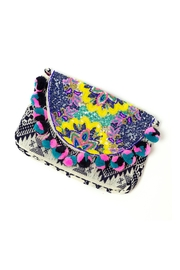 America & Beyond Boho Multicolor Clutch - Product Mini Image