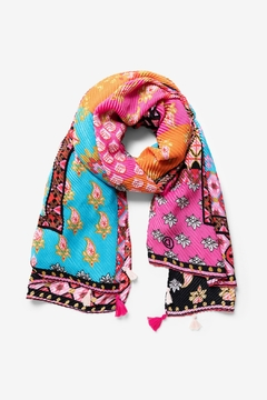 Desigual - Spain Boho Patch Scarf - Product List Image