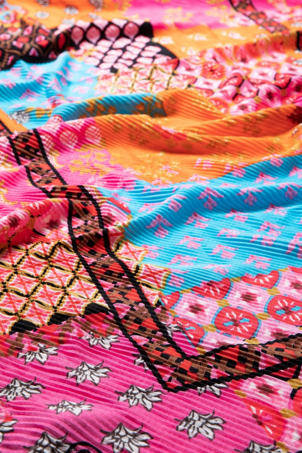 Desigual - Spain Boho Patch Scarf - Front Full Image