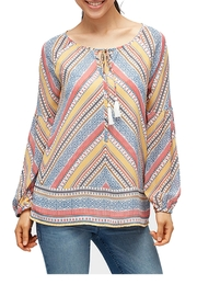 Tom Tailor Boho Peasant Blouse - Product Mini Image