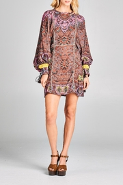 Racine Boho Print Dress - Product Mini Image
