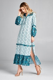 Racine Boho Print-Maxi Dress - Product Mini Image