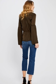 Gentle Fawn Boho Satin Top - Side cropped