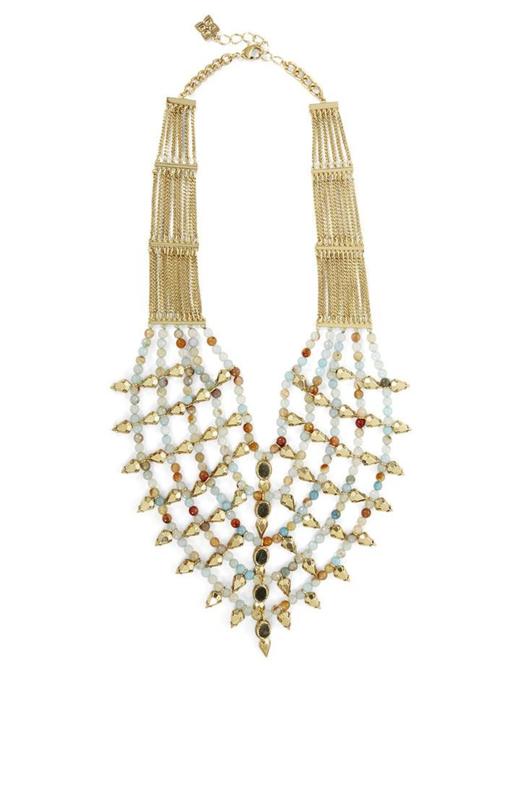 BCBG Max Azria Boho-Spiked Bead Necklace - Main Image