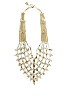 BCBG Max Azria Boho-Spiked Bead Necklace - Product List Image