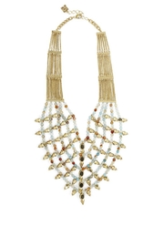 BCBG Max Azria Boho-Spiked Bead Necklace - Front cropped
