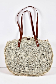 Shoptiques Product: Boho Straw Bag