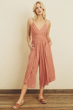 dress forum Boho Stripe Jumpsuit - Product List Image
