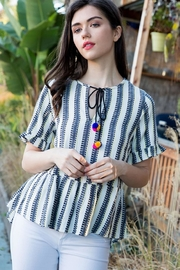 THML Clothing Boho Summer Blouse - Front cropped