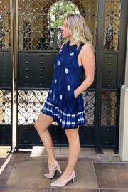 I Boutique  Boho tank dress with pockets - Front cropped