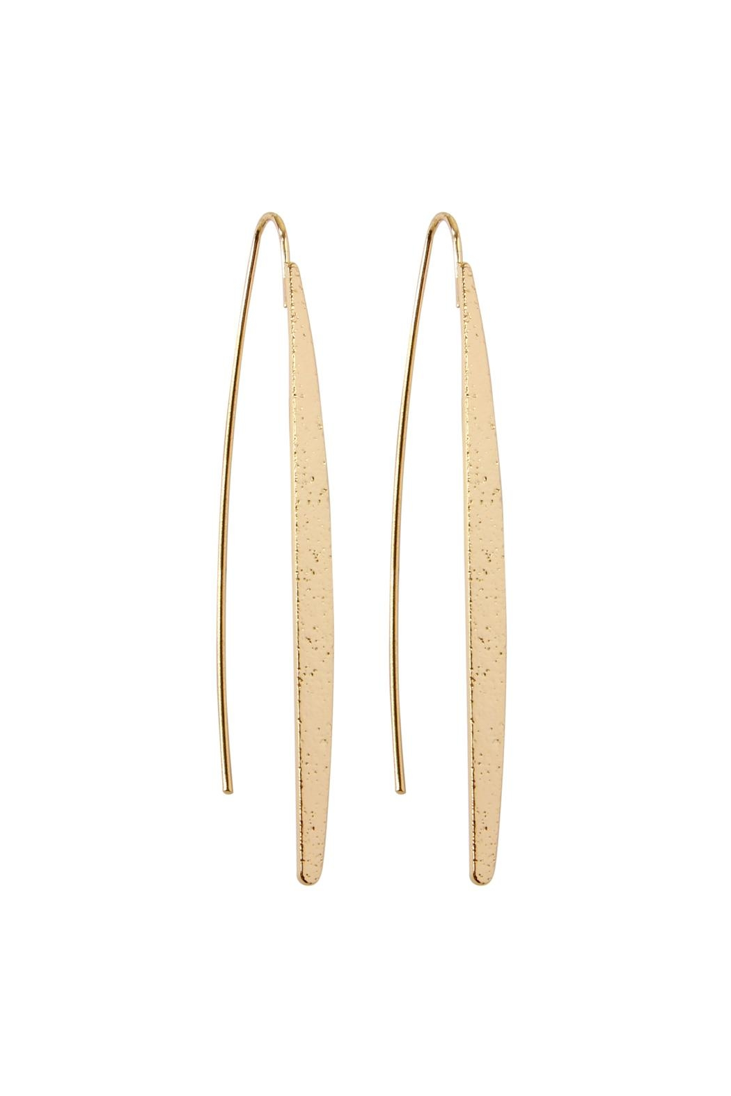 Riah Fashion Boho Threader Earrings - Main Image