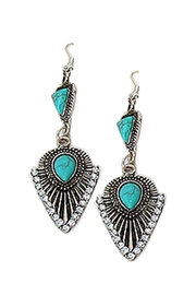 Wild Lilies Jewelry  Boho Turquoise Earrings - Product Mini Image