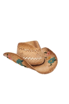 Dorfman Pacific  Boho Western Hat - Product List Image