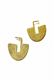 Boho Gal Aapo Brass Earrings - Product Mini Image