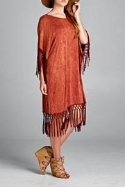 Boho Gal Stoned Washed Dress - Product Mini Image