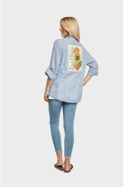 Boho Jane Love Peace Shirt - Front full body