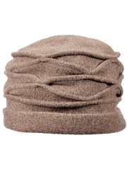 1920s Hat Styles for Women- History Beyond the Cloche Hat Boiled Wool Toque $36.00 AT vintagedancer.com