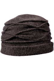 1920s Style Hats Boiled Wool Toque $36.00 AT vintagedancer.com