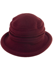 Edwardian Hats, Titanic Hats, Tea Party Hats Boiled Wool Toque $36.00 AT vintagedancer.com