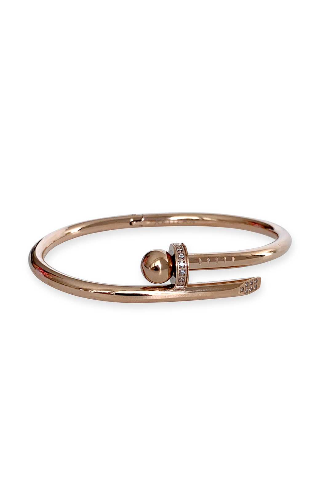 Artizan Bola Bangle - Side Cropped Image