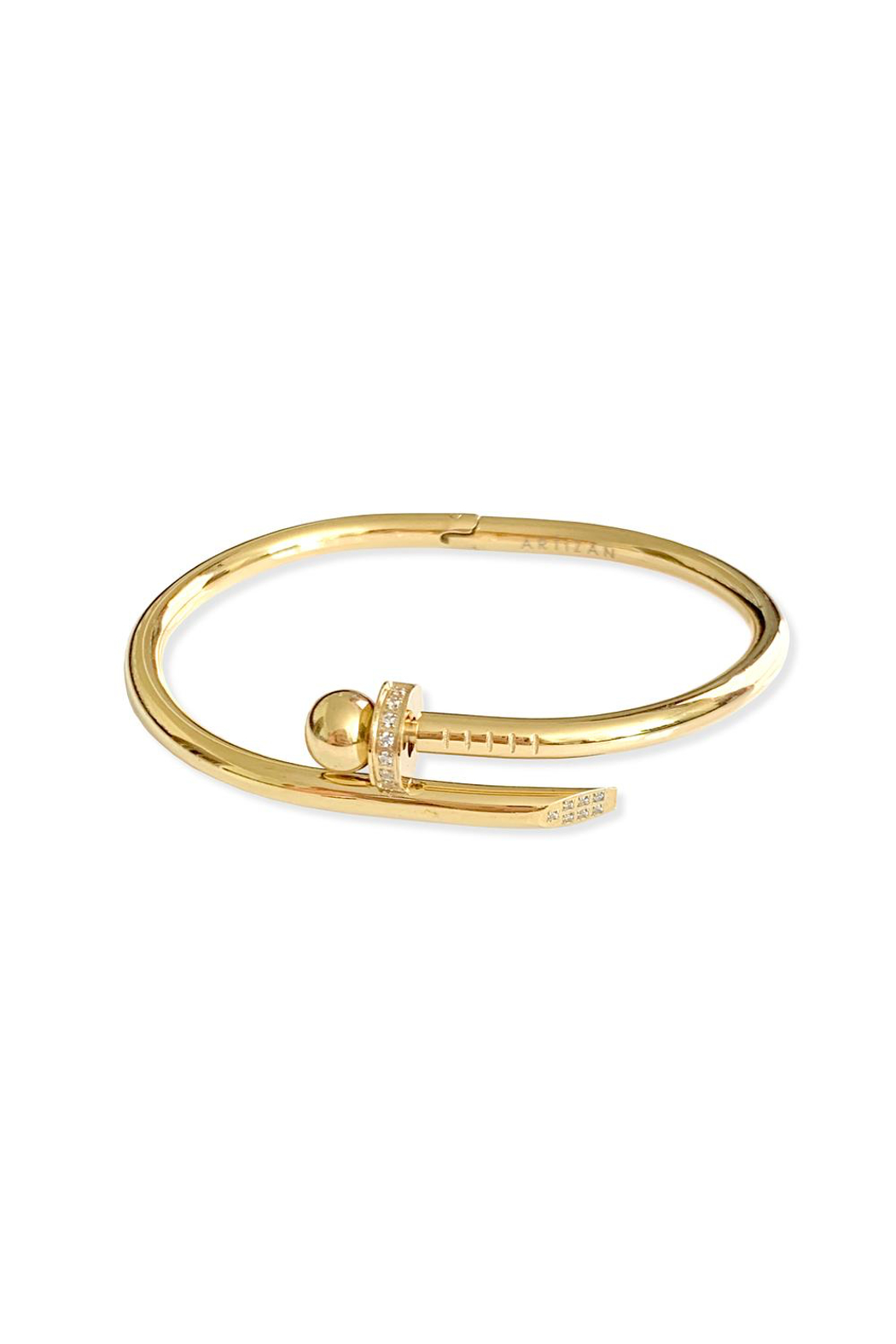 Artizan Bola Bangle - Front Full Image