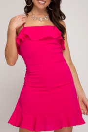 She and Sky Bold & Beautiful dress - Front cropped