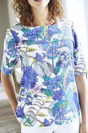 Lily and Me Bold Flower Top - Front cropped