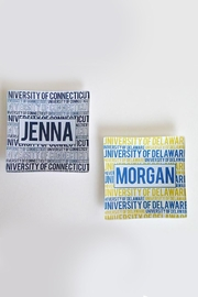Lets Accessorize Bold Name Plate - Front cropped