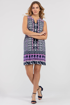 Tribal Femme Bold Print Dress With Pockets - Product List Image