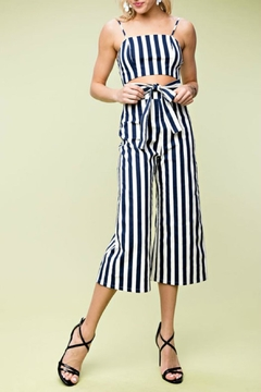 Shoptiques Product: Bold Stripe Jumpsuit