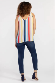 Tribal Bold Stripe Seeveless Blouse - Product Mini Image