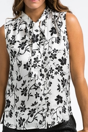 BOLDI Tie Front Blouse - Front cropped