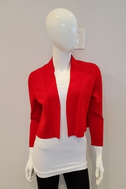 Frank Lyman Bolero Sweater Cardigan, Tomato Red - Front cropped