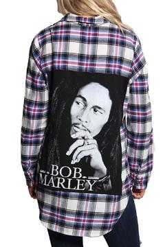 Shoptiques Product: Bob Marley Flannel