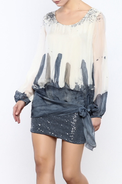 Shoptiques Product: Silk And Sequin Dress