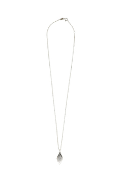 Shoptiques Product: Silver Petal Pendant Necklace