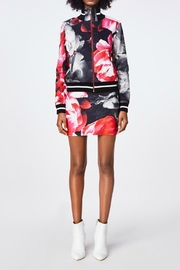 Nicole Miller Bomber Flower Jacket - Product Mini Image