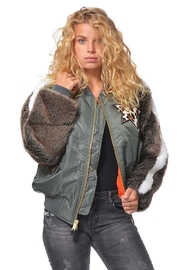Gypsetters Bomber Fur Sleeves - Product Mini Image